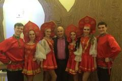Шоу балет edelweiss с C Н. Лукинским в москве