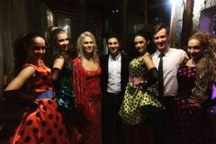 Шоу балет edelweiss с А. Макарским в москве