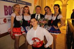 Шоу балет edelweiss с Pupo в москве