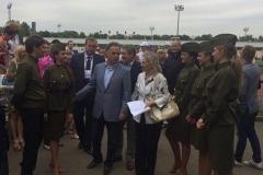 Шоу балет edelweiss с Виталием Мутко в москве